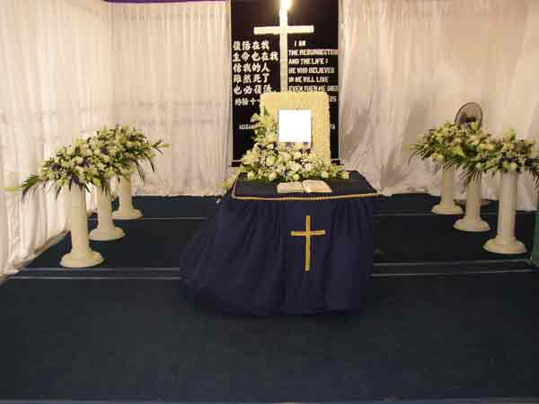 Christian Funeral Singapore Funeral Packages